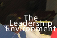 the leadership environment